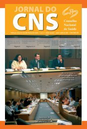 JORNAL DO - Conselho Nacional de Saúde