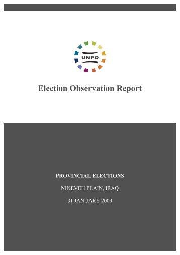PDF of the full report - UNPO