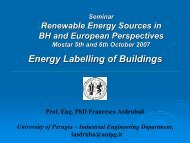 Energy performance of buildings - Methods for expressing energy ...
