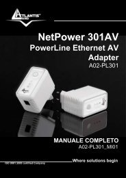 NetPower 301AV PowerLine Ethernet AV Adapter - Atlantis Land