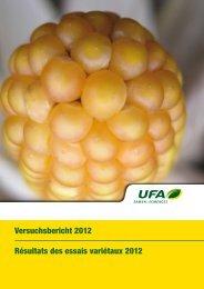 Versuchsbericht 2012 (pdf / 585 KB) - LANDI Zola AG