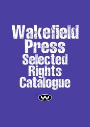 Selected Rights Catalogue - Wakefield Press