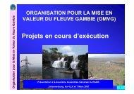 Organisation pour la Mise en Valeur du fleuve Gambie - INBO