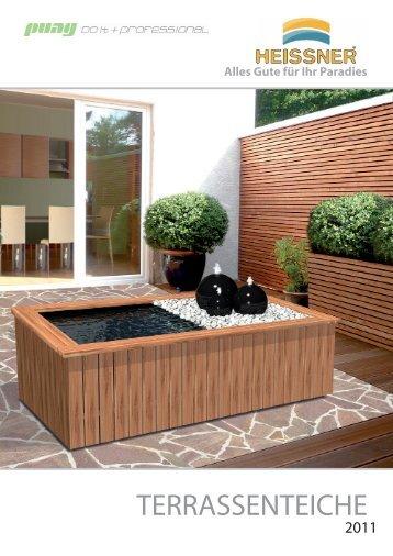 terrassenteich magazine. Black Bedroom Furniture Sets. Home Design Ideas