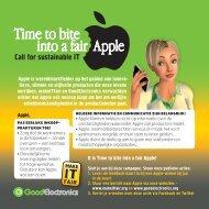 Apple is wereldmarktleider op het gebied van innova ... - makeITfair