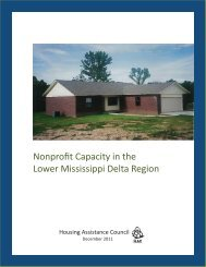 Nonprofit Capacity in the Lower Mississippi Delta Region - Housing ...