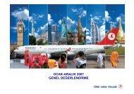 2007 yılı trafik sonuçları değerlendirme sunumu - Turkish Airlines