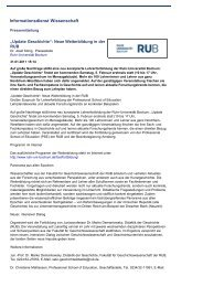 Informationsdienst Wissenschaft 31.01.2011 - Professional School ...
