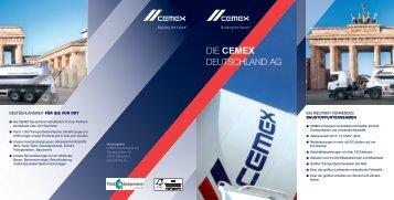 Die CEMEX DeutschlanD aG