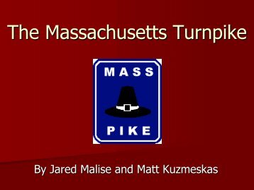 The Massachusetts Turnpike