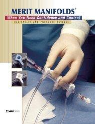 MERIT MANIFOLDS - Merit Medical