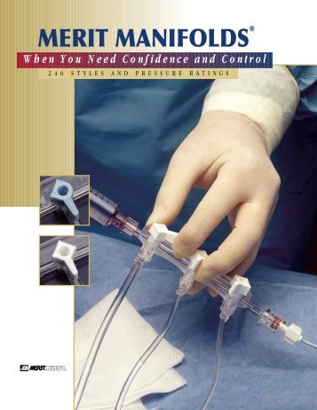 MERIT MANIFOLDS - Merit Medical