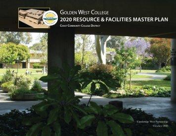 2020 resource & facilities master plan - Golden West College