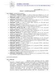 Anexa la HCL nr......./.............. Anexa 3. Acordul de parteneriat Art. 1 ...