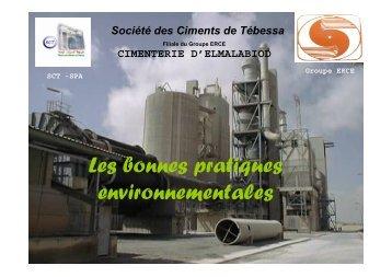 Les bonnes pratiques environnementales