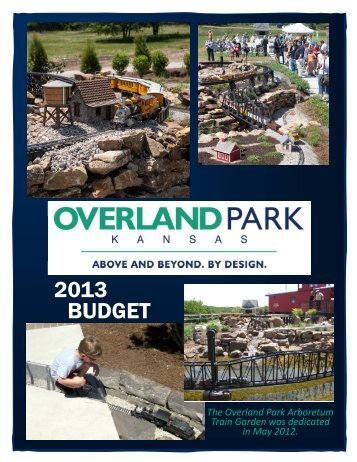 2013 BUDGET - City of Overland Park