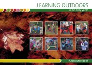 (PDF) Foundation Stage, Learning Outdoors - Northern Ireland ...