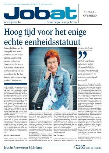 Antwerpen & Limburg - Jobat