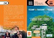 FECAMP TOUSSAINT YVETOT - Département de Seine-Maritime