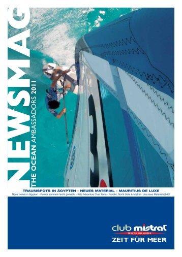 THE OCEAN AMB ASSADORS 2011 - Club Mistral