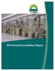 2013 Annual Report - HVAC Excellence