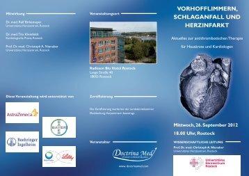 VORHOFFLIMMERN, SCHLAGANFALL UND HERZINFARKT - pci.info