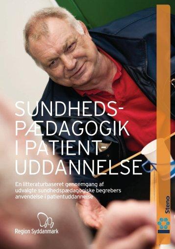 Sundhedspædagogik i patientuddannelse - Steno Diabetes Center