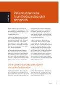 Sundhedspædagogik i patientuddannelse - Steno Diabetes Center - Page 7