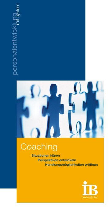 Coaching Layout Pe.qxd (Page 1) - IB Personalentwicklung