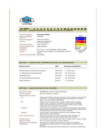 1 2 3 4 5 6 7 8 9 10 11 12 13 14 15 16 SECCIÓN 1 - ITW Futura ...