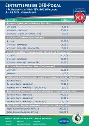 Bestellformular - 1. FC Heidenheim