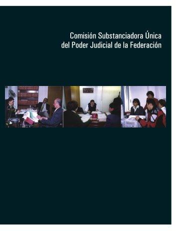 Comisión Substanciadora Única del Poder Judicial de la Federación
