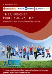 The Churches Purchasing Scheme