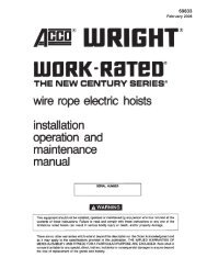 Acco Wire Rope Reeving Diagram - Today Wiring Schematic Diagram Acco Hoist Wiring Diagram on