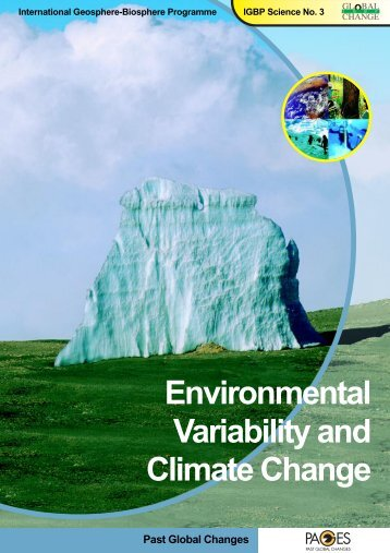 Environmental Variability and Climate Change