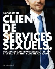 S'ATTAQUER AU L'EXEMPLE SUÉDOIS : STOPPER LA ...