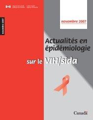 Actualités en épidémiologie sur le VIH/sida - Agence de la sante ...