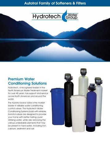 Autotrol Family Of Softeners & Filters - Hydrotech