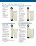 Autotrol Family Of Softeners & Filters - Hydrotech - Page 2