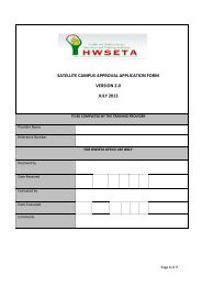 Satellite Campus Approval Application Form July 2013