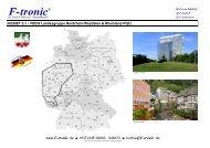GEBIET 5.1 - VDEW Landesgruppe Nordrhein-Westfalen - F-tronic
