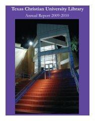 Texas Christian University Library - TCU Library