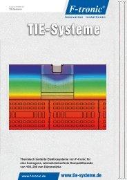 Informationen unter: www.tie-systeme.de - F-tronic