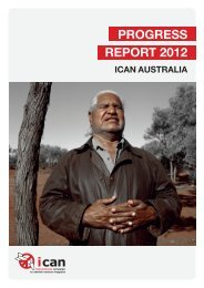 progress report 2012 - International Campaign to Abolish Nuclear ...