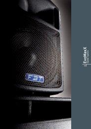 EvoMaxX Speaker Systems - FBT
