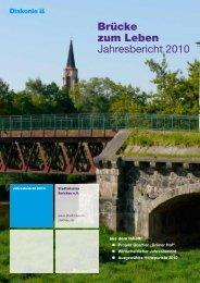 Brücke zum Leben Jahresbericht 2010 - Stadtmission Zwickau e.V.