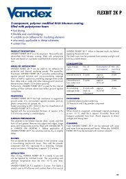 Vandex Flexbit 2KP - Safeguard Europe Ltd.