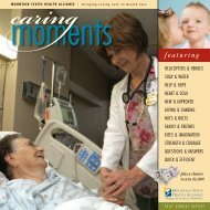 2007 Annual Report - Mountain States Health Alliance