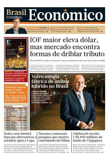 1 : OPÇÃO_CAPA - Brasil Econômico - iG