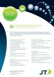 Data Centre Services - JT Global